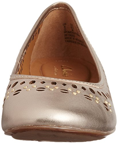 Clarks Henderson Leather Gold Hot Gold 6RnP6