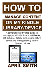 Would you like to know how to manage your kindle device (library and content) like a pro? You could achieve much more with your kindle device. However, only a few people ever get to use their kindle device to perform all its allowable functio...