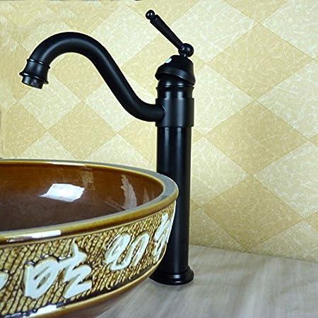 BL @ Antiguo Negro Bronce Manguera para lavabo lavabo Licuadora de ...