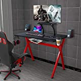 "LAZZO X Type Computer Gaming Desk 41"" Home Game"