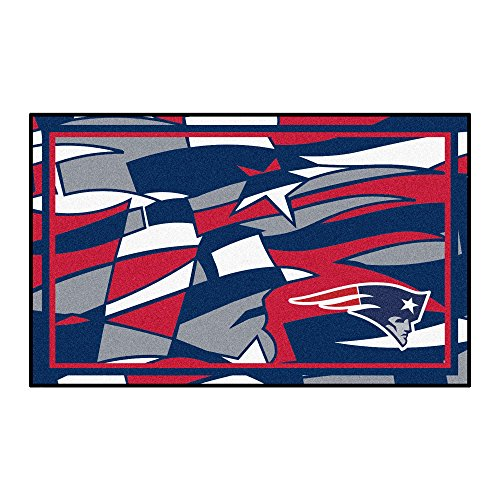 FANMATS NFL New England Patriots NFL - New England Patriots4x6 Rug, Team Color, One Sized ()