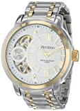 Armitron Men's 20/4930WTTT Exposed Skeleton Dial Stainless Steel Two-Tone Bracelet Watch