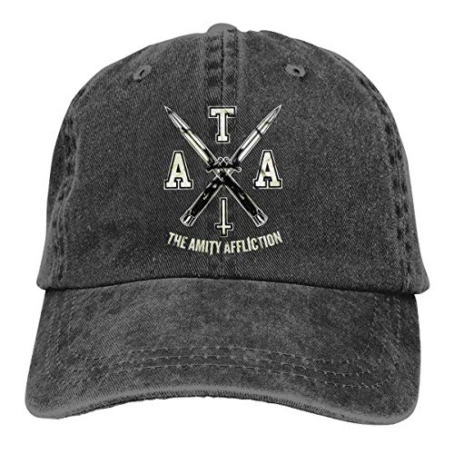 Rodney L Robbins The Amity Affliction Logo Unisex Adjustable Retro Cap