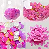 1 inch Tissue Paper Confetti 5000 pcs Circle