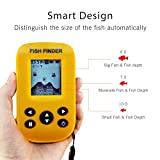 Cheap Gobing Wireless Sonar Sensor Fish Finders for Boats Humminbird Transducer , LCD Display ,Water Depth , Temperature Fishfinder