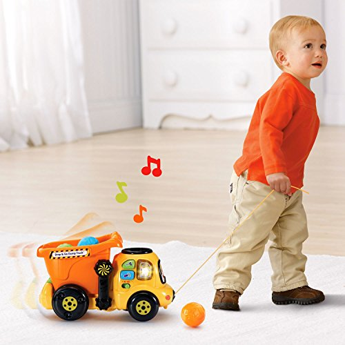 VTech Drop and Go Dump Truck Amazon Exclusive by VTech (Image #4)