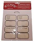 Kilner Homemade Labels, Pack of 24