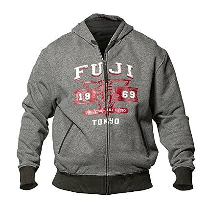 Fuji Sports Tokyo 1969 Full Zip Hoodie Hoodie Tokyo 1969 Grey-3041-L-P