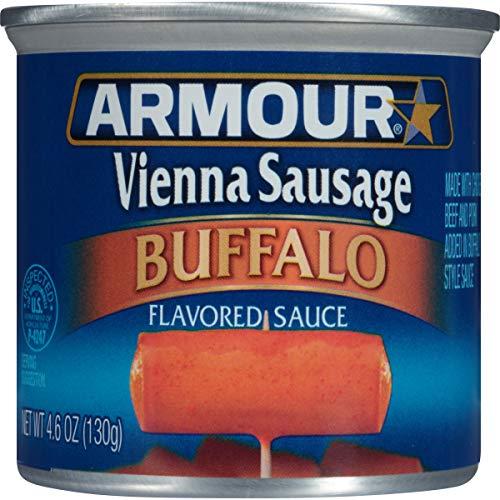 (Armour Vienna Sausage, Buffalo, 4.6 Ounce (Pack of 24) )