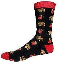 Fast Food Socks (Size 6-12)   Funny Socks