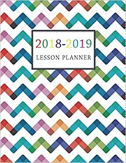 lesson planner 2018 2019 for teacher planning and record book daily