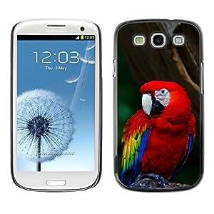 YOYO Slim PC / Aluminium Case Cover Armor Shell Portection //Cool Parrot //Samsung Galaxy S3
