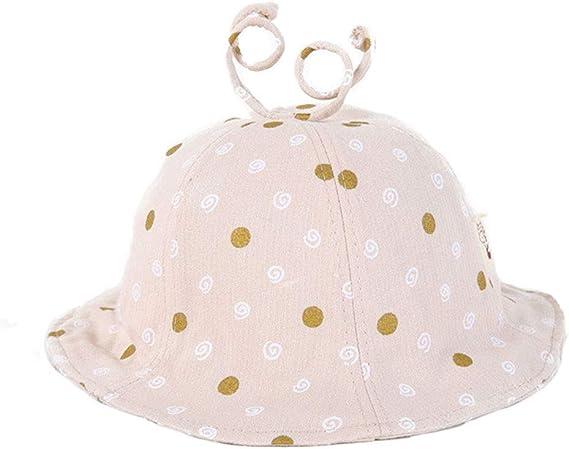 Kanggest.Sombrero de Pescador Plegable para Niña Bebé Verano ...