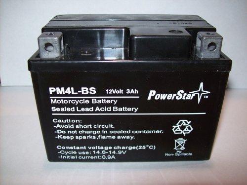 PowerStar YTX4L-BS AGM Maintenance Free Battery