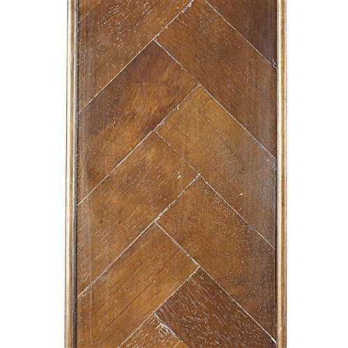 Buy design tree home herringbone inlay floor mirror