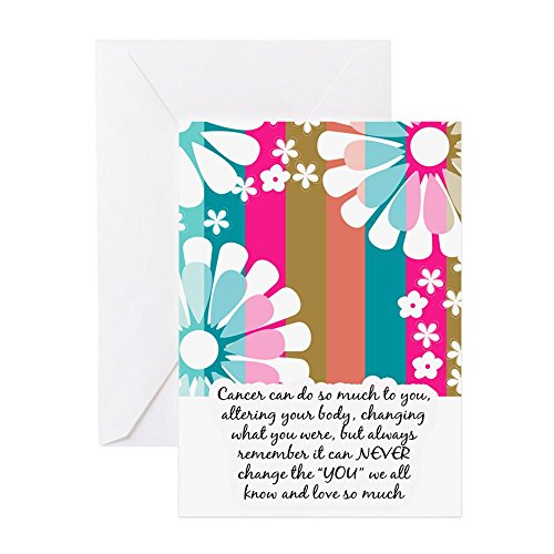 CafePress Cancer Patient Encouragement Card Greeting Card, Note Card, Birthday Card, Blank Inside Matte