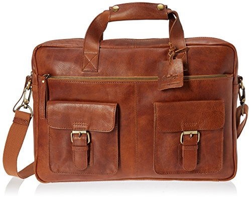 Rawlings Rugged Briefcase, Cognac