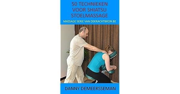Technieken voor shiatsu stoelmassage massage serie van