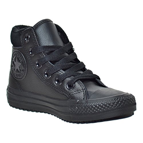 CONVERSE All Star Boot 654312C, sneaker pelle, imbottita, black/thunder (nero), Nero (black-thunder), 28