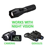 VASTFIRE Focusable Infrared Flashlight IR Light Thermal Hog Hunt Bobcat Fox Rat Night Vision Hunting NOT Regular Flashlight BUT Infrared Illuminator