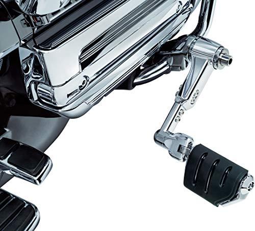 Kuryakyn 4081 Ergo III Adjustable Cruise Mount with Trident Dually Foot Peg Adjustable Cruise Peg Mounts