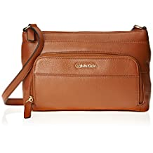 Calvin Klein Pebble Leather Cross Body Bag