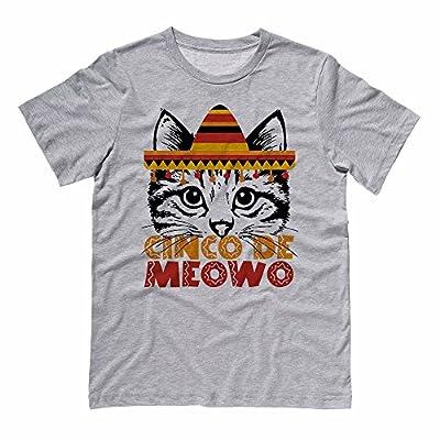 Cinco De Meowo Funny Cinco De Mayo Cat Shirt Men's