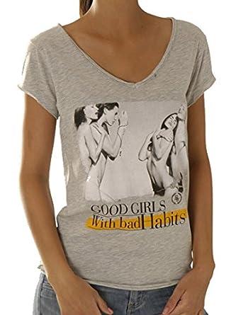 aad06e861d3 Boom bap t-shirt pour femme - 0090 wcv wcv - 0090-habits - Gris ...