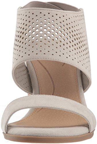 Dr. Scholl's Shoes Women's Jasmin Sandal Grey Microfiber for sale under $60 aiBfRBc9iI