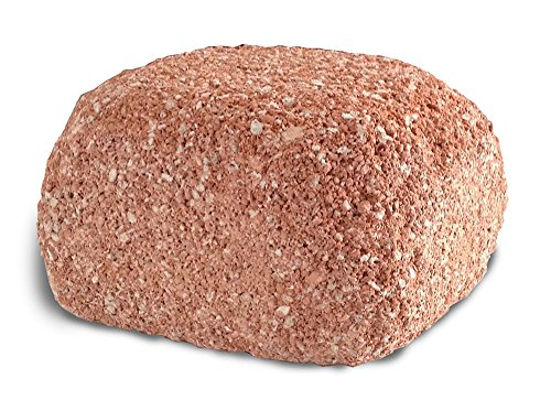 (EcoBio-Block Stone for Aquariums, Medium - Natural Water Clarifier and Odor Remover, Treats 15 to 40 Gallons)