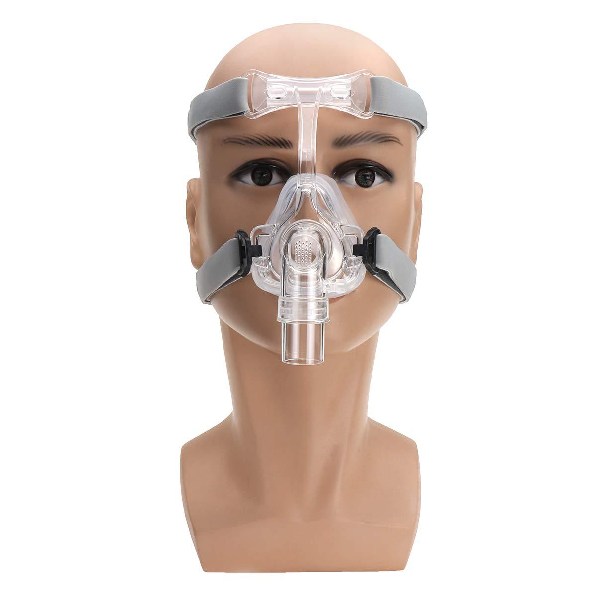 MASUNN Nm2 Almohadas Nasales Cpap Mascarilla Para El Headgear Kit De Bi-Nivel De La Interfaz Del Sueño Snore Strap - M
