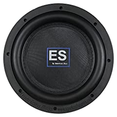 Description: Looking for BIG BASS but dont have the space for a full-sized woofer? The only thing thin about the American Bass ES Subwoofer is the mounting depth. Unlike its predecessors the Slim Line series, these slim woofers can make full-...