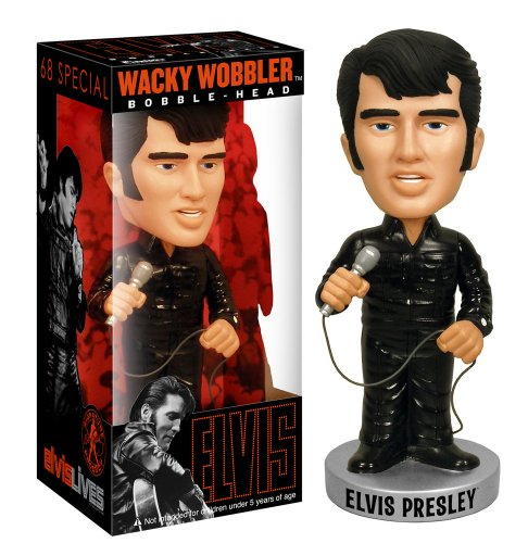 Elvis 68 Black Wacky Wobbler product image