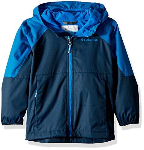 - Columbia Boys' Big Endless Explorer Jacket, Collegiate Navy Heather/ Super Blue Heather, Large