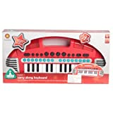 ELC Carry Along Keyboard - Red by Early Learning Centre