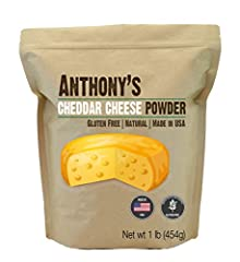 A perfect yellow cheddar cheese powder, not to be confused with those knock off neon cheeses, this stuff can be placed on pretty much anything to make it taste better. Like pop corn? BAM! throw some powdered cheddar cheese on there, an now po...