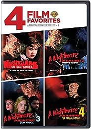 4 Film Favorites: Nightmare on Elm Street 1-4 (A Nightmare on Elm Street, Nightmare on Elm Street 2: Freddie&#