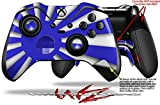 Rising Sun Japanese Flag Blue - Decal Style Skin fits Microsoft XBOX One ELITE Wireless Controller (CONTROLLER NOT INCLUDED)