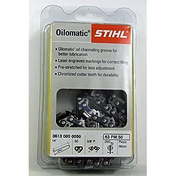 Stihl 63PM3-50 Picco Micro with 14-Inch Saw Chain 3//8-Inch Pitch 0.050-Inch Ga
