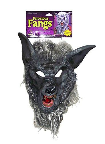 Werewolf Mask (Deluxe Kids Wolf Mask)