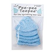 Pee-pee Teepee Terry Blue - Cello Bag,5 pack