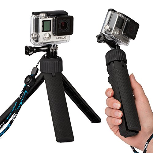 Fosmon Tripod Grip - Tripod [Handle   Stand] Grip with Screw and Wrist Strap for GoPro HERO 1 / 2 / 3 / 3+ / 4