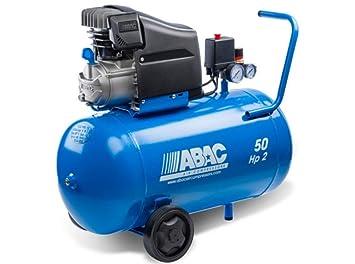 ABAC 1129100023 Compresor Monofásico Montecarlo 50 L 2Hp 10 Bar: Amazon.es: Bricolaje y herramientas