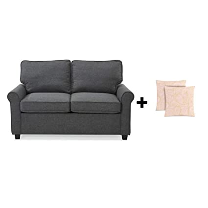 Incredible Alexs New Sofa Sleeper Black Convertible Couch Loveseat Chair Microfiber Bed Mattress Grey With Toss Pillow Unemploymentrelief Wooden Chair Designs For Living Room Unemploymentrelieforg
