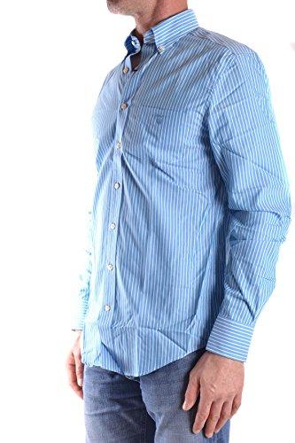 Gant Homme MCBI131132O Bleu Claire/Blanc Coton Chemise