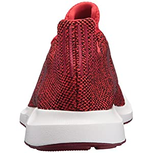 Adidas Mens Swift Run Shoes,Red/Collegiate Burgundy/White,9.5 M US