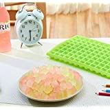 Drhob 1pcs Ice Cube Molds for Hard Candy & Chocolate Making, (96 Grid , Color:green)