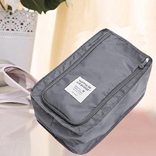 Comesitc étanche Fourre maquillage rangement Voyage de 3 Hangbag Ver sac Organisateur Portable tout pochette Chaussures q7wBxqFrI