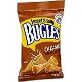 Bugles, Sweet and Salty, Caramel Snacks, 6 oz. Bag