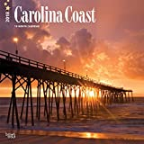 Carolina Coast 2018 12 x 12 Inch Monthly Square Wall Calendar, USA United States of America Southeast Scenic Nature